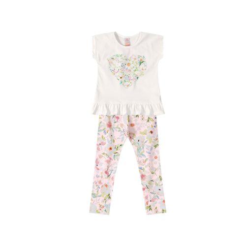 86c0071c17 Conjunto Marisol Baby Branco - lojamarisol