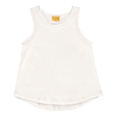 Blusa Regata Mineral Kids Branco - lojamarisol 0e0a474e2d0