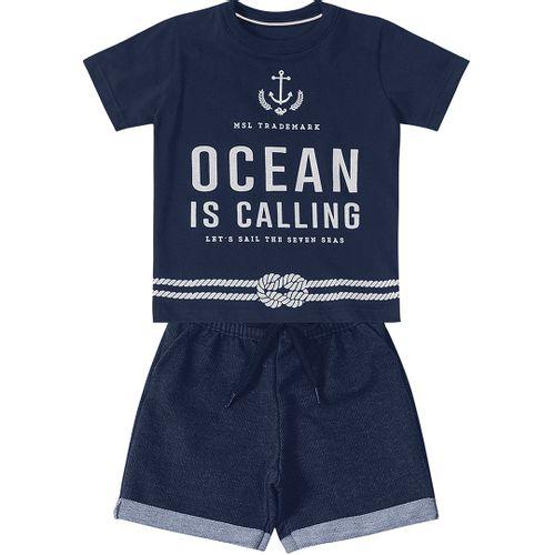 Conjunto Marisol Ocean Bebê Menino - lojamarisol 721ec7c12ac
