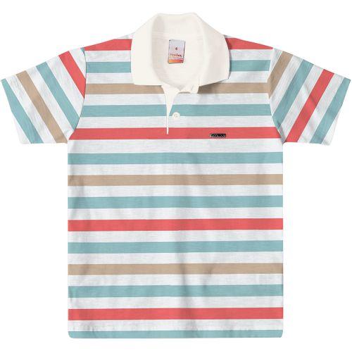 27811797d0 Camisa Polo Marisol Listrada Menino - lojamarisol